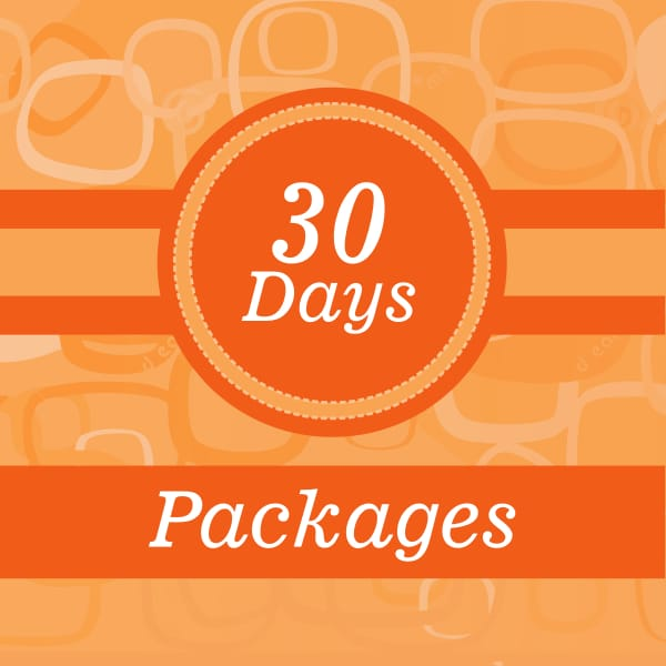 30 Days weight loss package