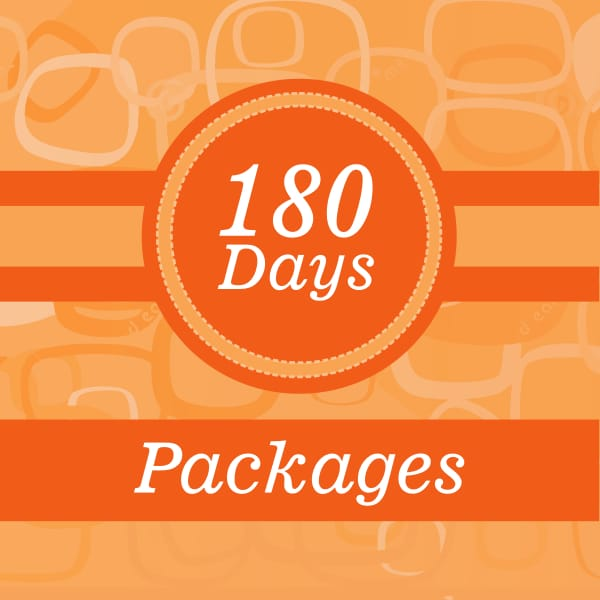 180 Days weight loss package